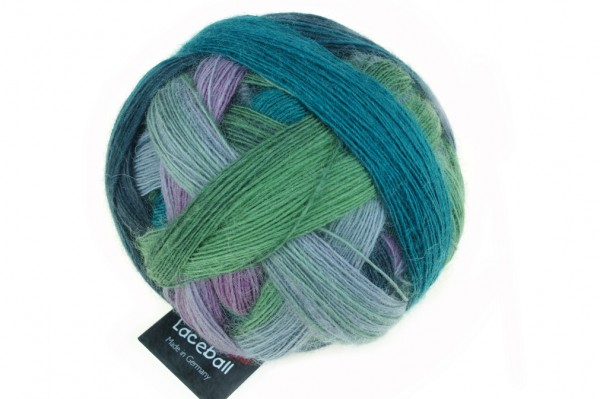 Lace Ball 2308_ Smoking Area 75% Virgin Wool, 25% Nylon (biodegradable)