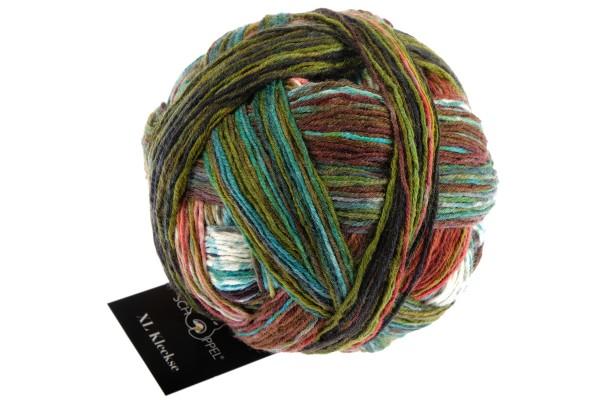 XL Kleckse 2433_ Shin Kyo Bridge 100% Virgin Wool (superwash)