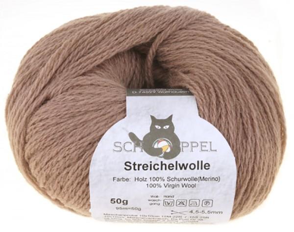 Streichelwolle 8173 Holz 100% Schurwolle(Merino)