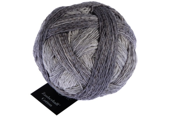 Zauberball® Cotton 2439_ Flight to the Moon 100% Cotton (Fibre Greek origin)