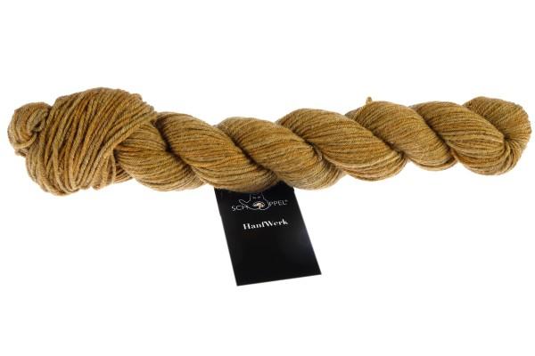 HanfWerk 2444_ Kurkuma 90% Virgin Wool (Merino fine)10%Hemp
