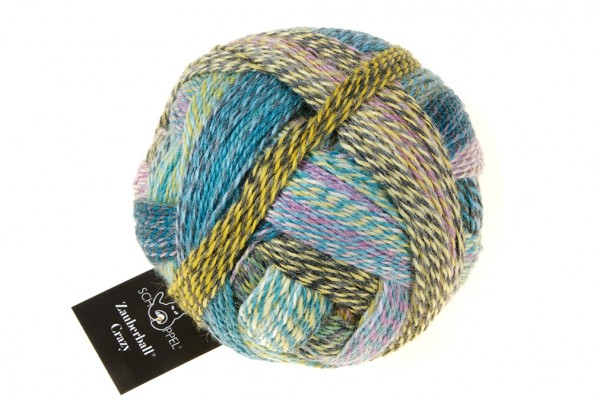 Crazy Zauberball 2355_ Garden Party 75% Virgin Wool, 25% Nylon