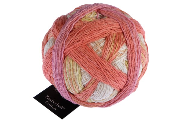 Zauberball® Cotton 2441_ First Day of Spring 100% Cotton (Fibre Greek origin)