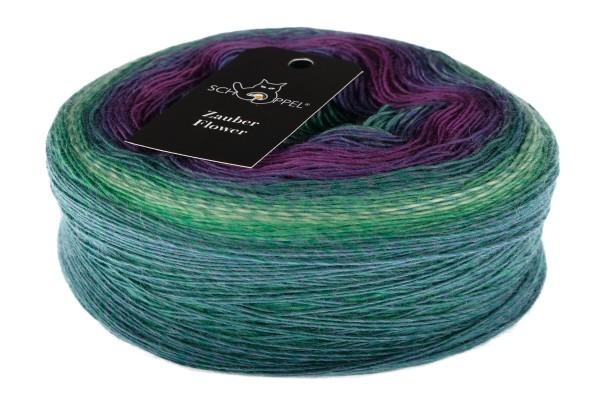 Zauber Flower 2437_ Okey-Dokey 100% Virgin Wool
