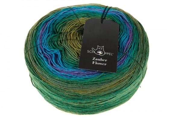 Zauber Flower 2365_ Middle Land 100% Virgin Wool