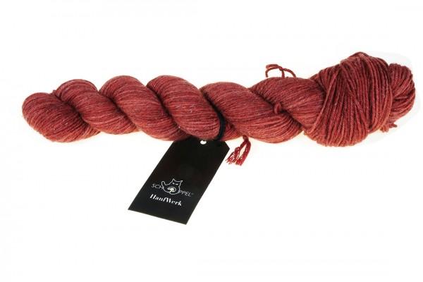 HanfWerk 2371_ Roter Ocker 90% Schurwolle (Merino fine) 10% Hanf