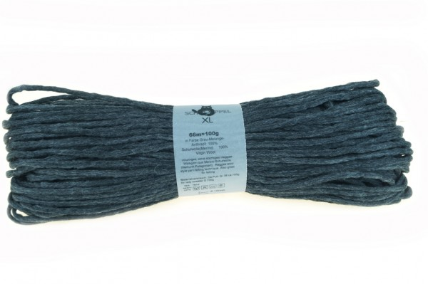XL 9755 Grau-Melange-Anthrazit 100% Schurwolle(Merino medium)