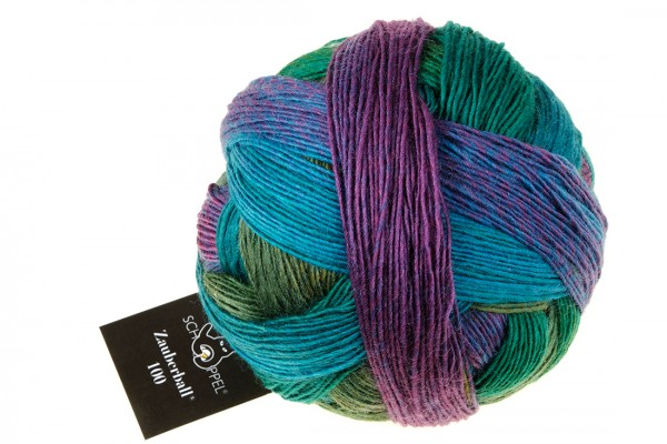 Zauberball 100 2365_ Middle Land 100% Virgin Wool