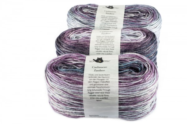 Cashmere Zauber 1699_ Lilac Scent 80% virginwool, 20% Cashmere