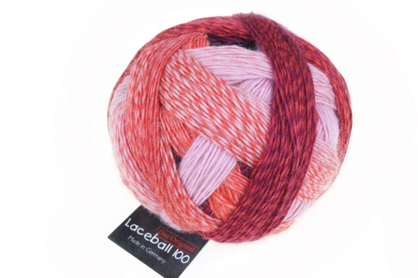 Lace Ball 100 2305_ Red to Go 100% Schurwolle(Merino superwash)