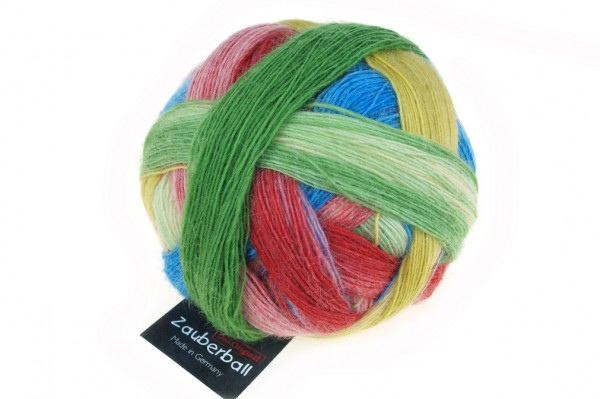 Zauberball® 2310_ Bunte Gasse 75% Schurwolle (Strong Quality, superwash) 25% Polyamid
