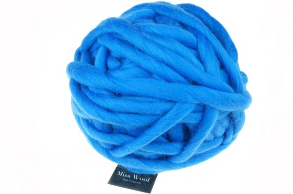 Miss Wool 4201 Cornflower Blue 100% Virgin Wool
